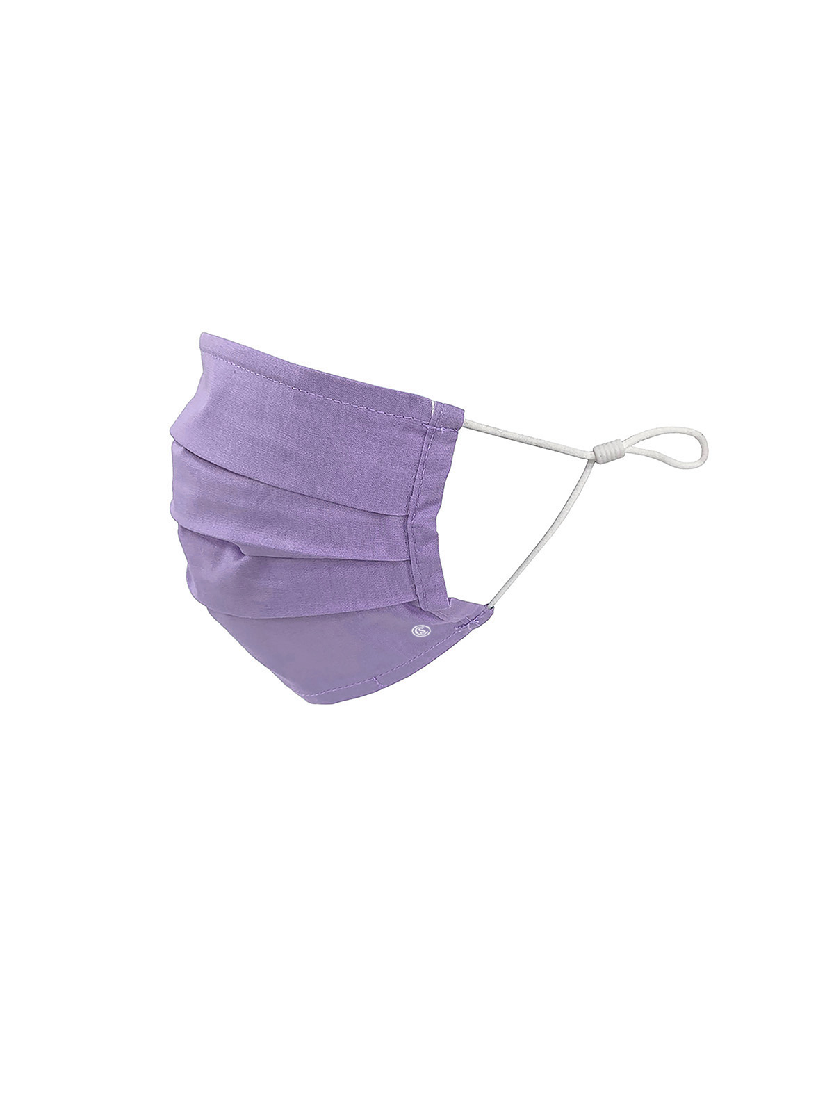 KIDS SOLID LILAC PLEATED MASK 6-PACK