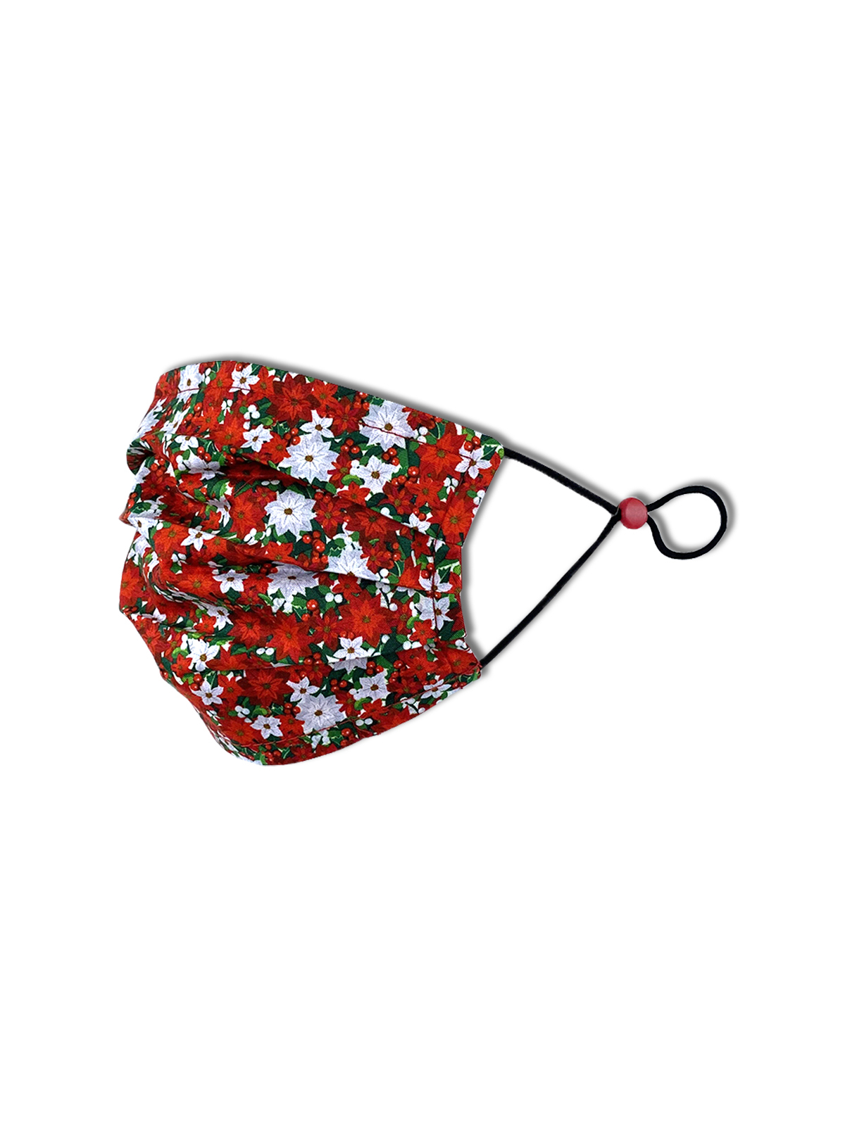 KIDS FLORAL PLEATED MASK 2-PACK