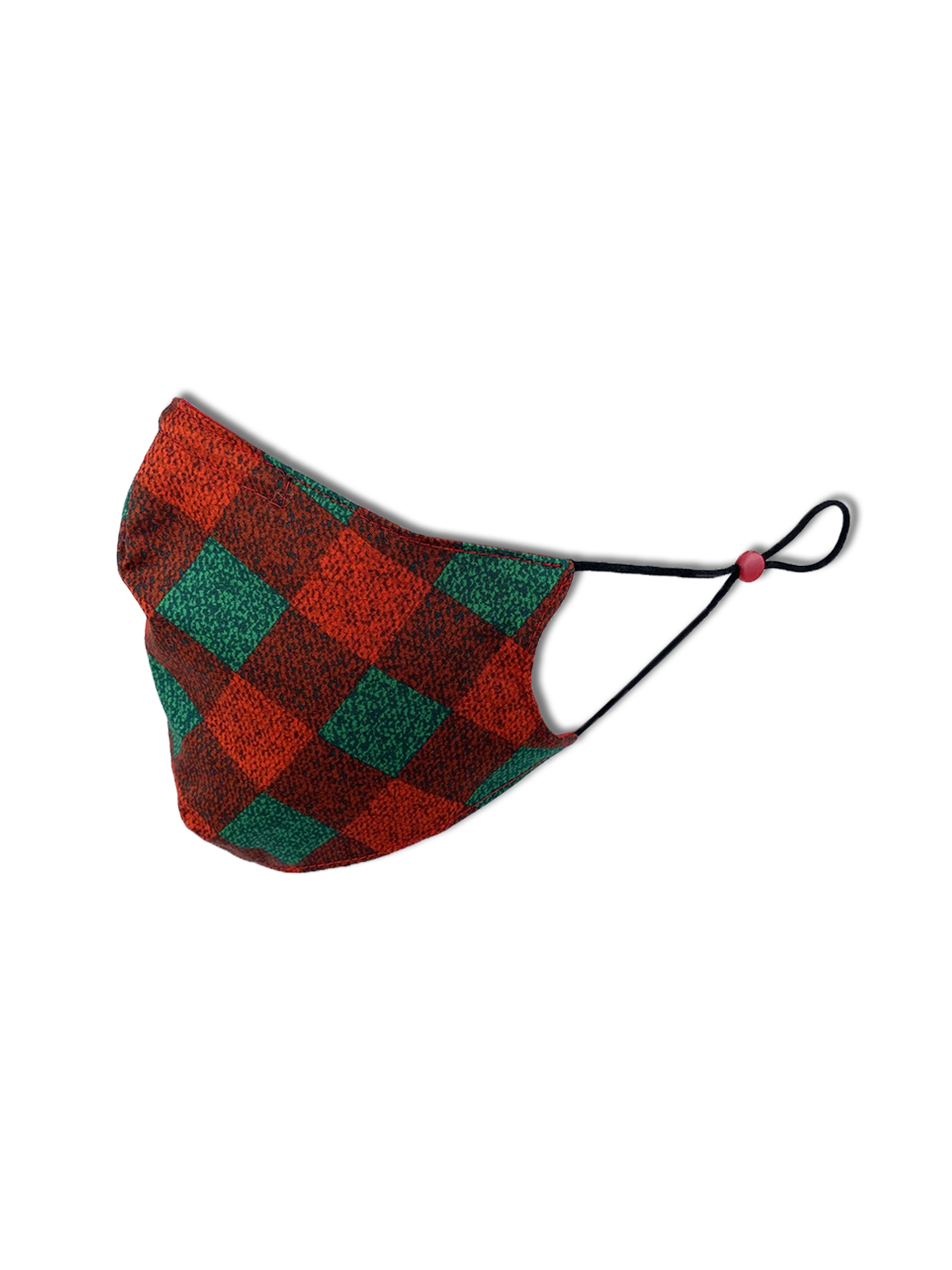 PLAID CONE MASK 2-PACK