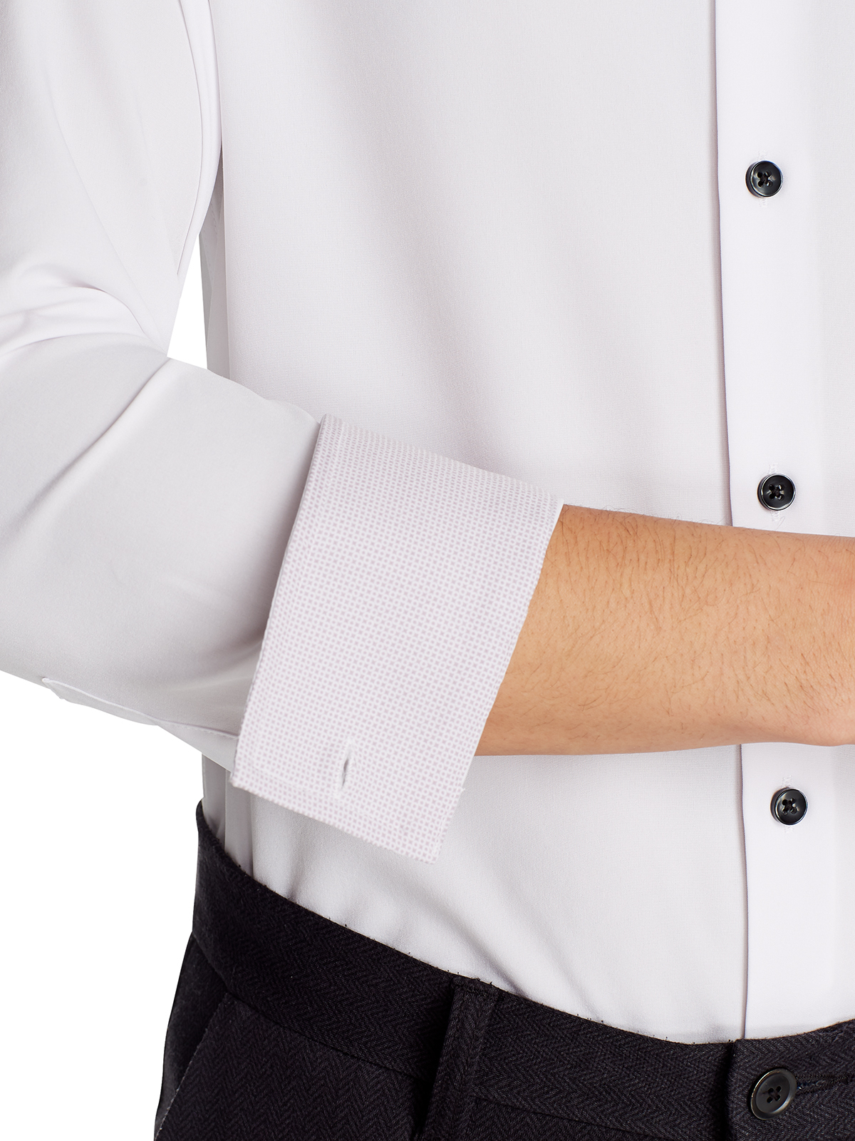 SOLID COOLING PERFORMANCE DRESS SHIRT